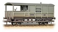 Bachmann 33-308 20 Ton Toad Brake Van BR Grey (Weathered)